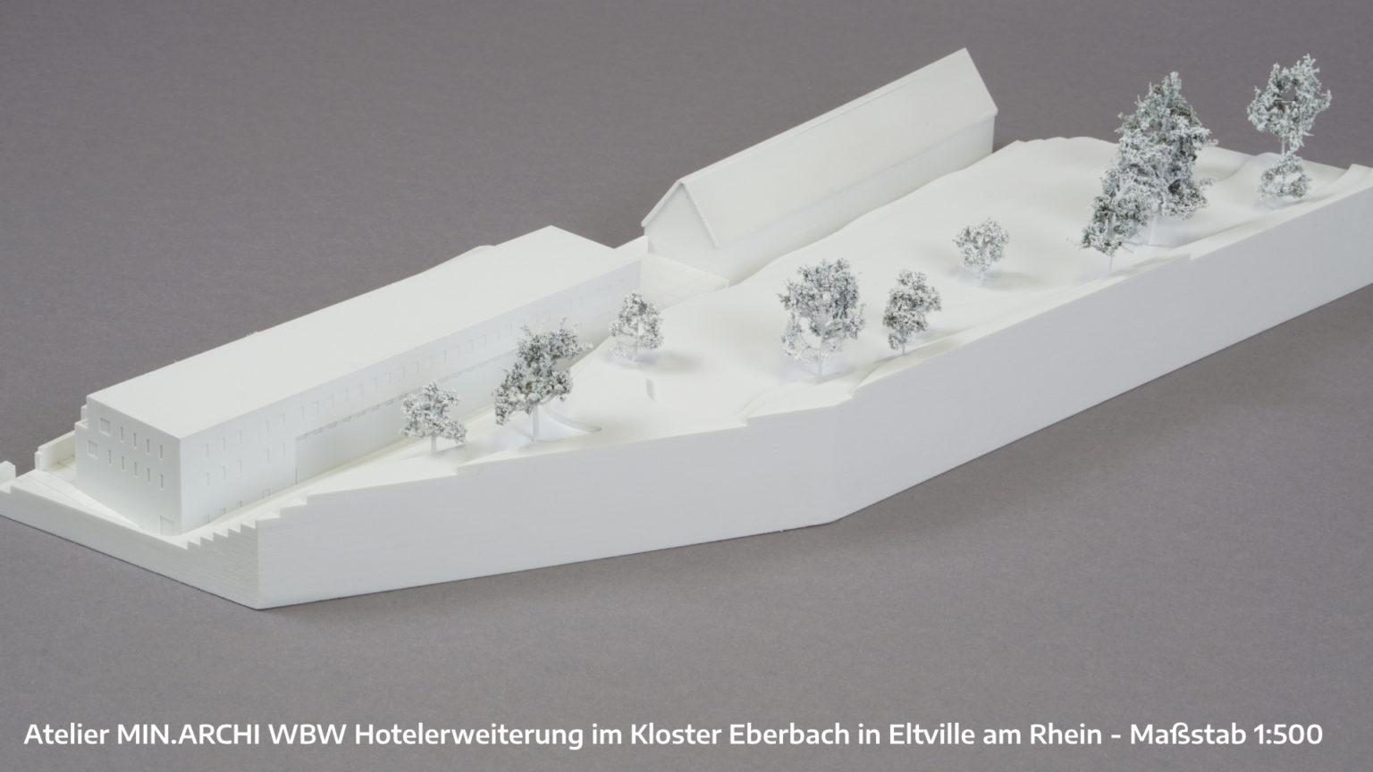 Hotelerweiterung im Kloster Eberbach in Eltville am Rhein